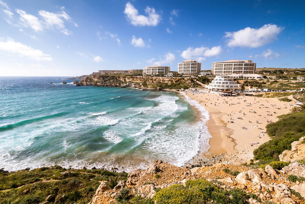 Golden Bay en Malta