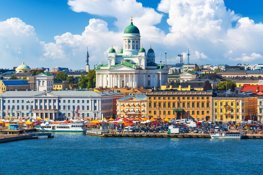 Helsinki, parada en un crucero por Finlandia
