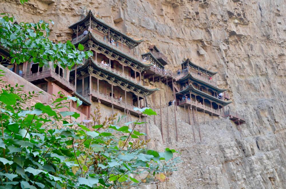 Heng Xansi en China, una de las montañas sagradas para la religión taoísta