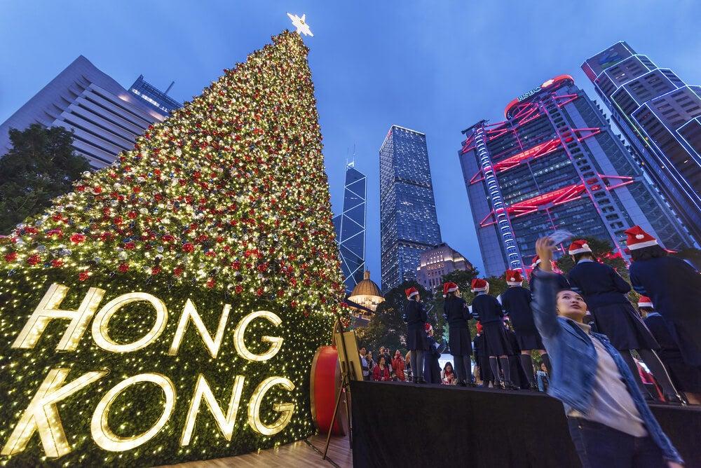Viaja con tu familia a Hong Kong en Navidad