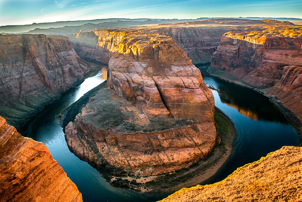 Horseshoe Bend en el Cañón del Colorado