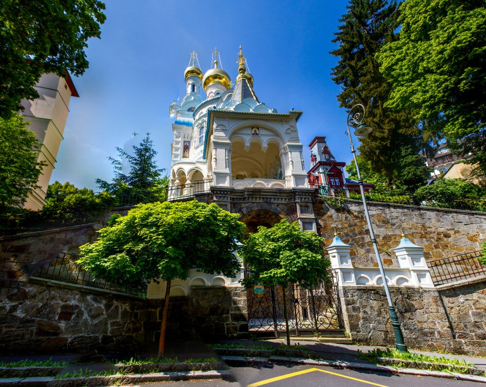Iglesia ortodoxa de San Pedro y San Pablo en Karlovy Vary