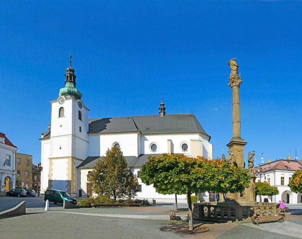 Visita la pequeña ciudad de Svitavy en la República Checa