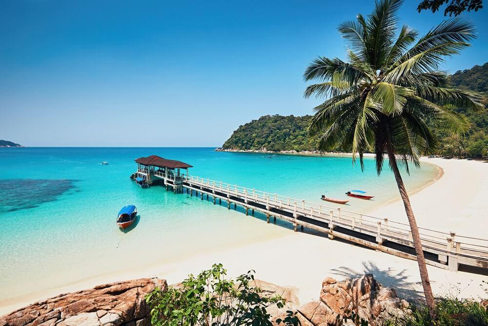 Playa en las Islas Perhentian