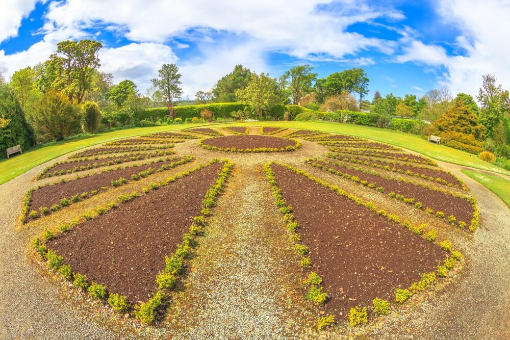 Jardín del castillo de Dunvegan