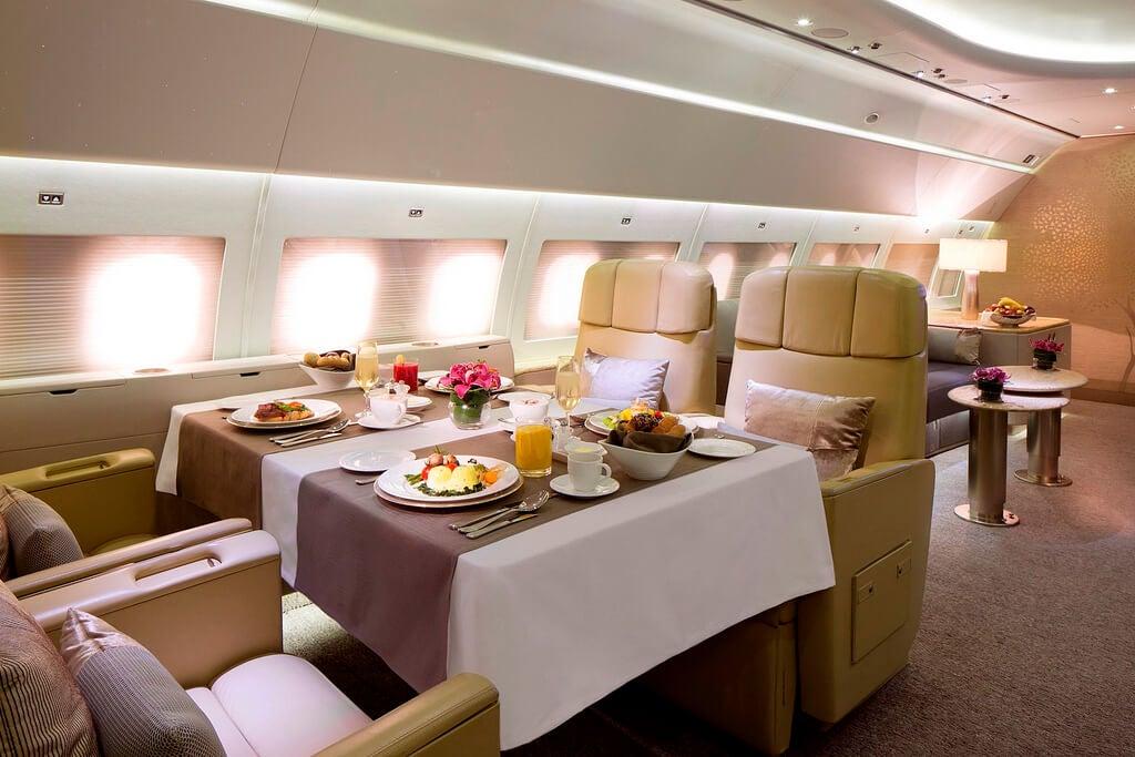 Servicio privado de Emirates