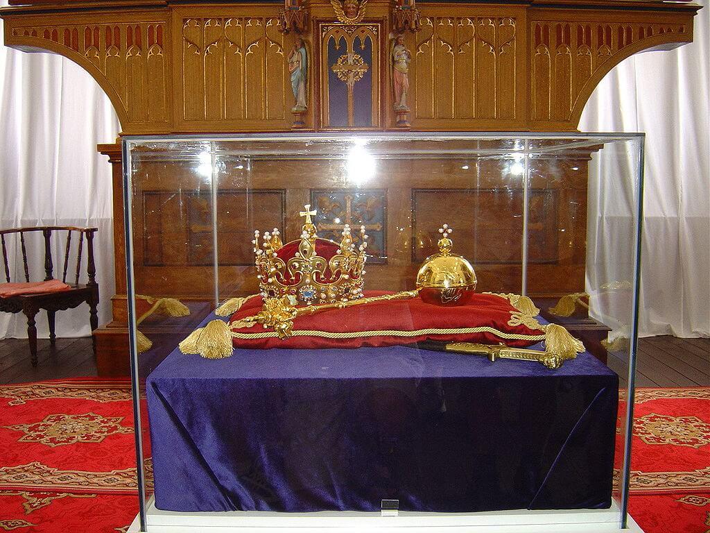 Joyas de la Corona en el Castillo Real de Wawel