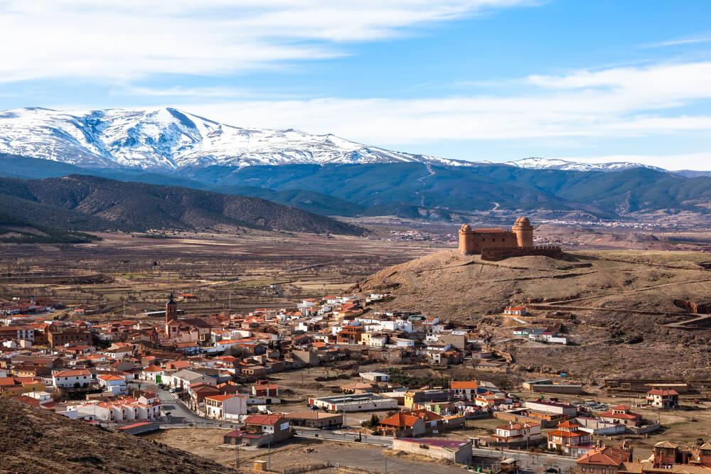 La Calahorra, uno de los pueblos mágicos