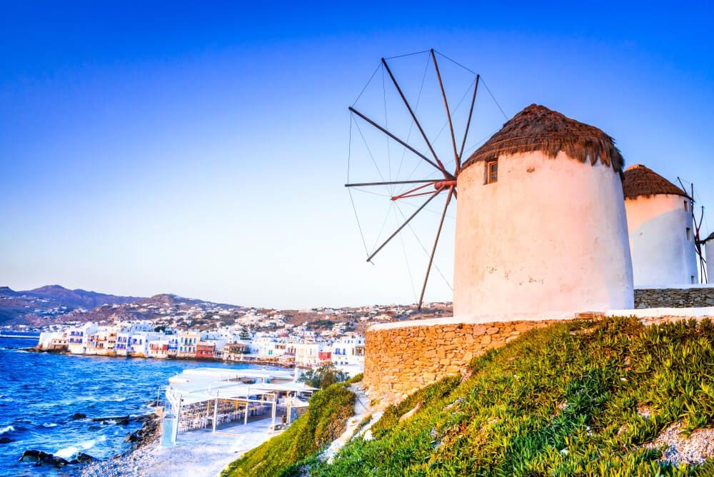 Míkonos en las islas griegas