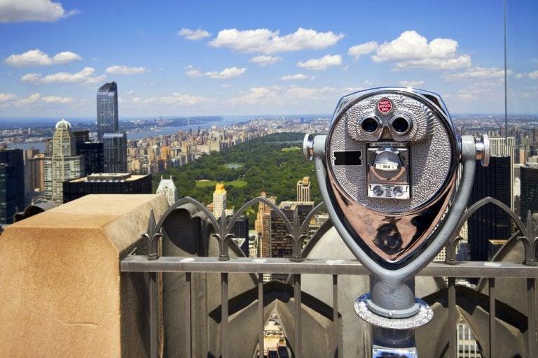 El mirador Top of the Rock del Centro Rockefeller en Manhattan