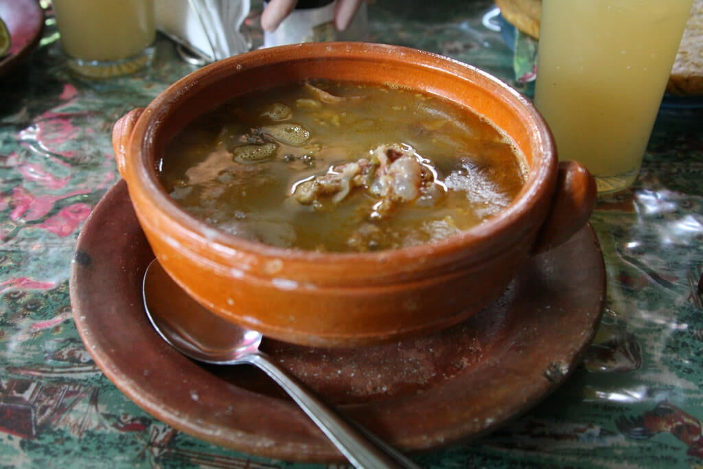 Mondongo típico de Colombia