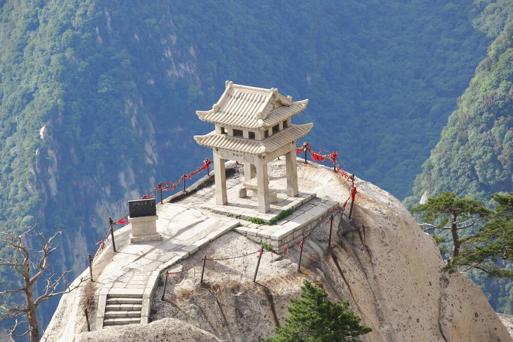 Monte Huashan en China