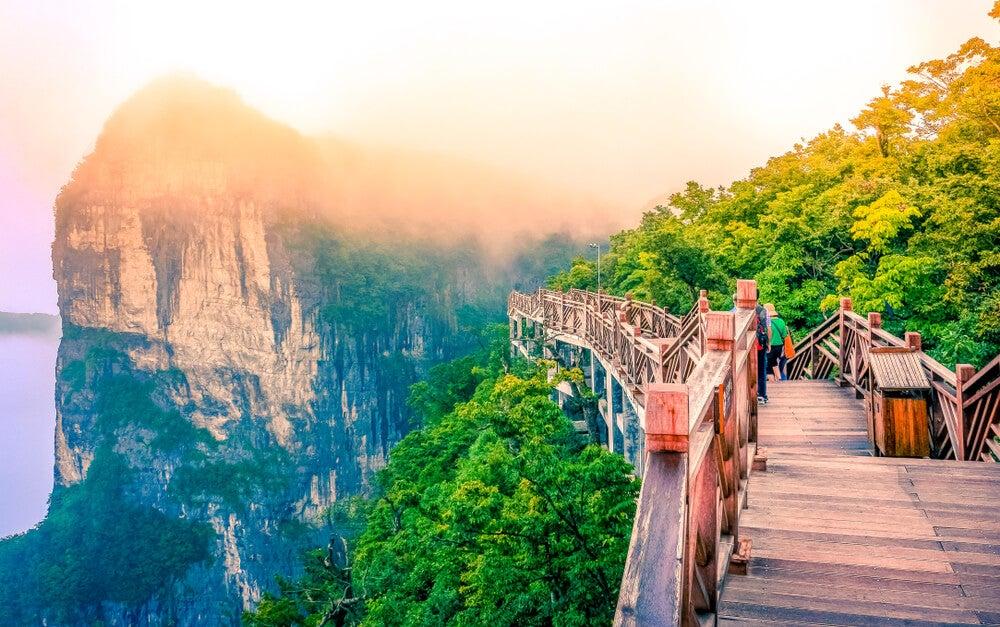 Monte Hunan en China