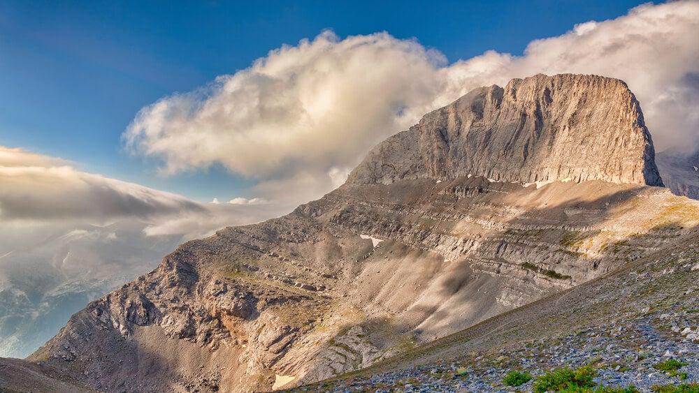 Monte Olimpo, lugar de mitología