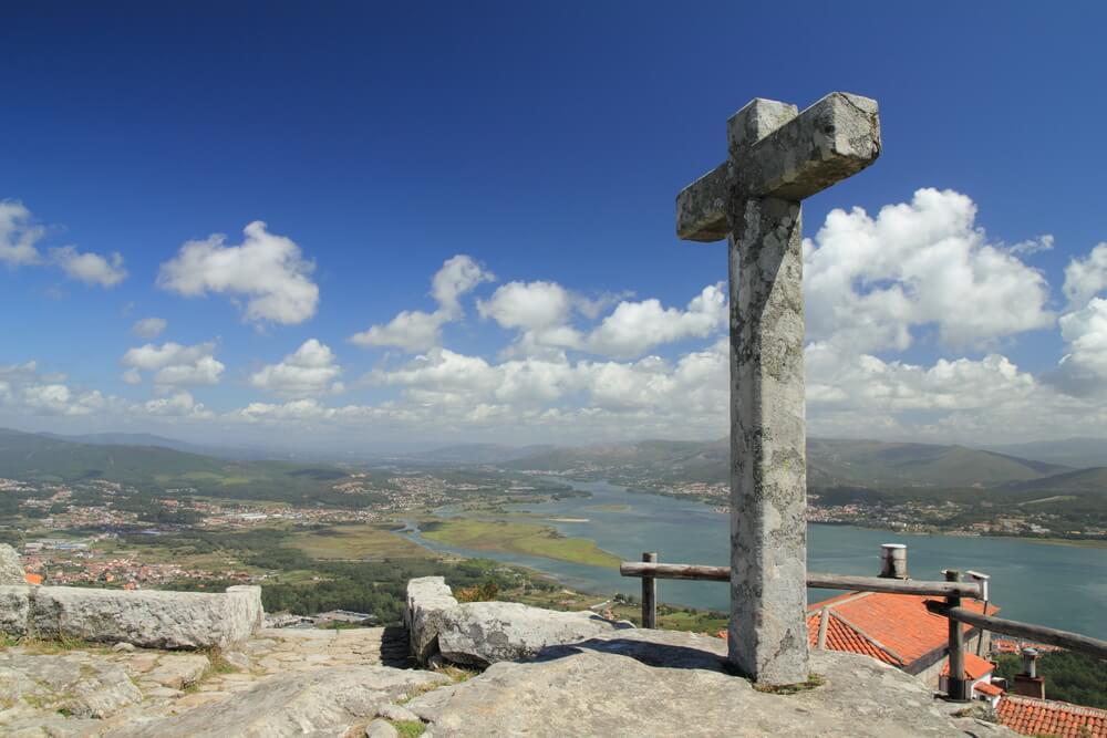 Vistas desde el monte de Santa Tecla