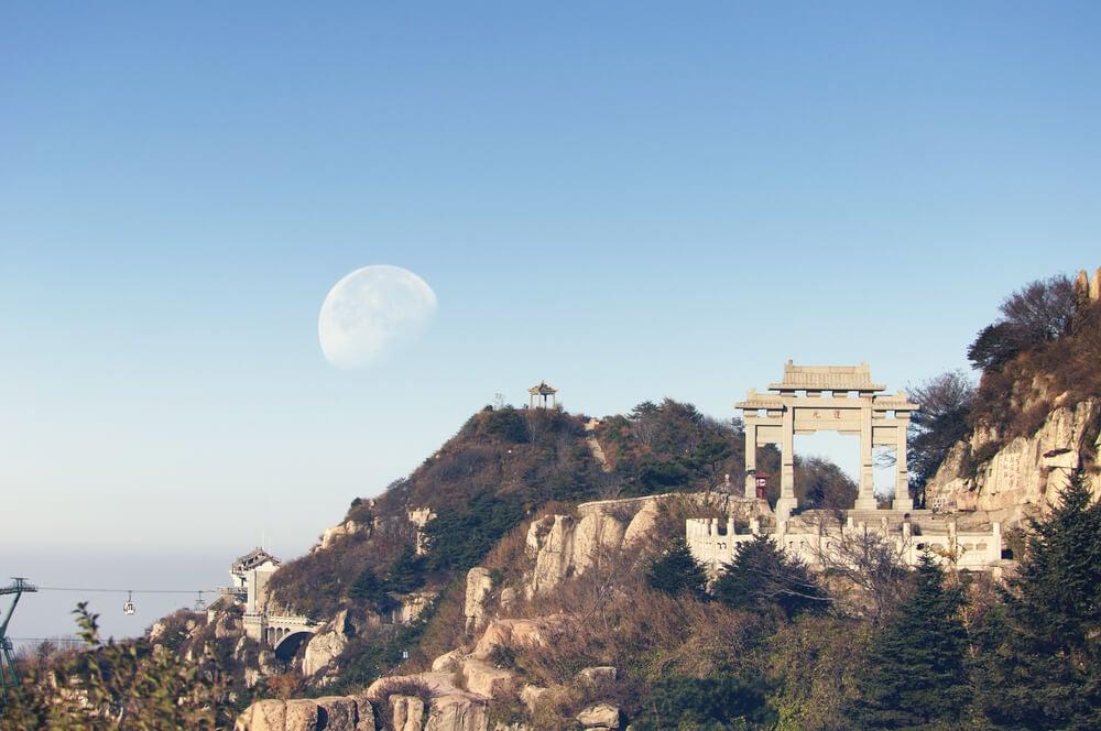 Monte Tai en China