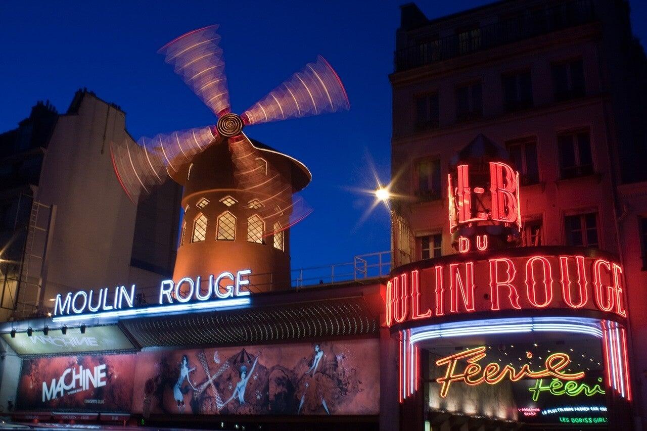 Moulin Rouge noche