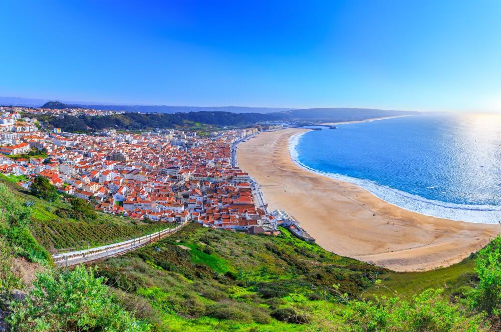 Nazaré, uno de los lugares más bellos de Portugal