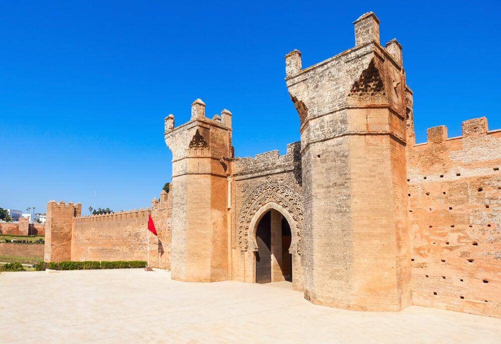 Necrópolis de Chellah en Rabat, una de las ciudades más bonitas de Marruecos