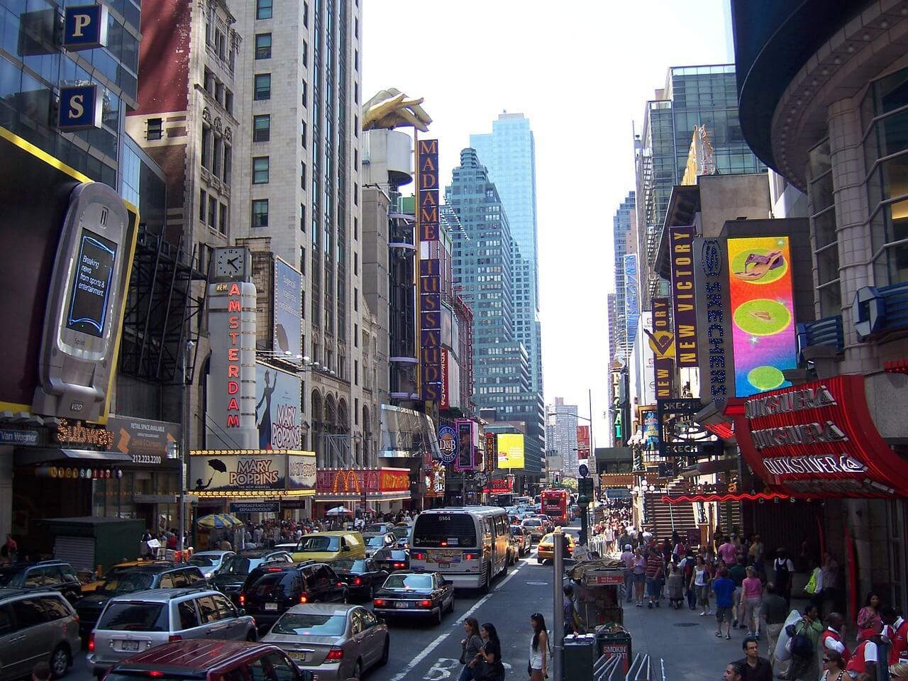 Calle de Manhattan