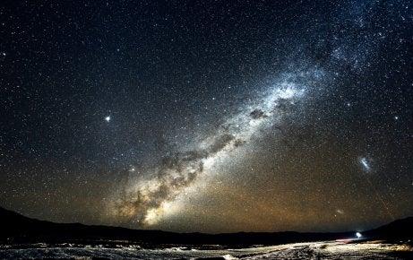 Noche en el desierto de Atacama