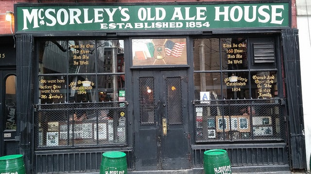 McSorley's Old Ale House en Nueva York