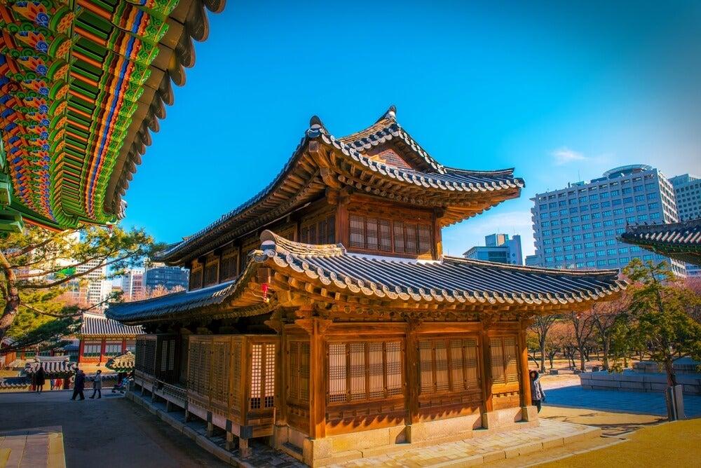 Palacio Deoksugung en Seúl