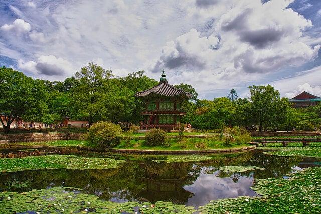 Palacio Gyeongbokgun en Seúl