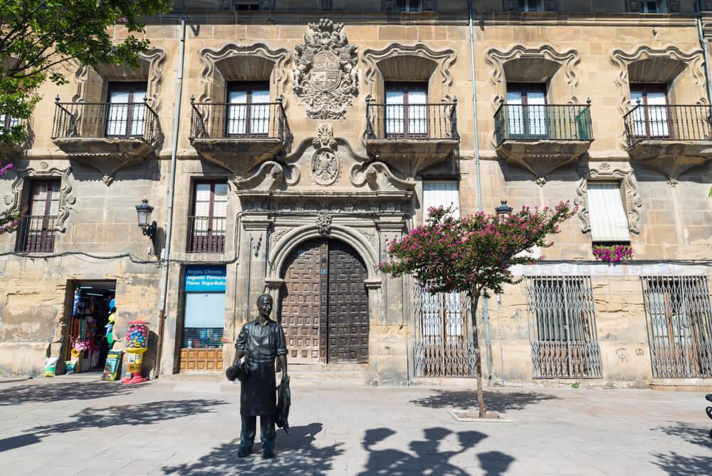 Palacio de la Plaza de la Cruz en Haro, La Rioja