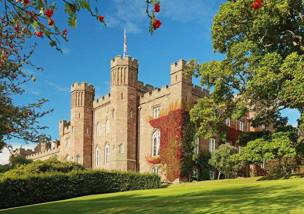 Palacio Scone en Escocia