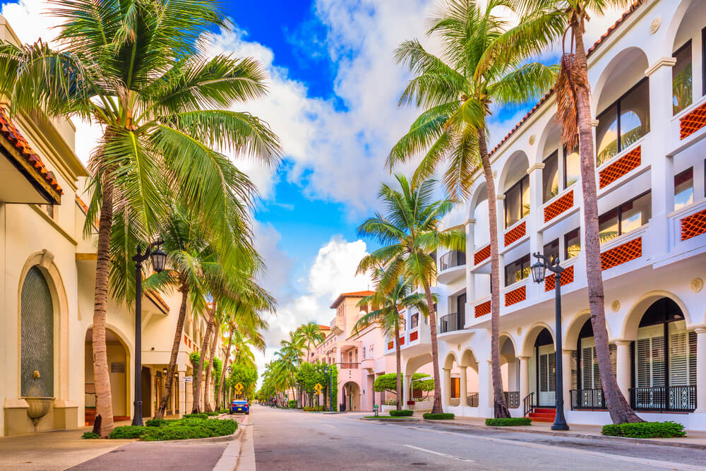 Palm Beach en Florida