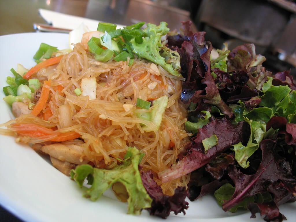 Pancit Bihon, plato de Filipinas