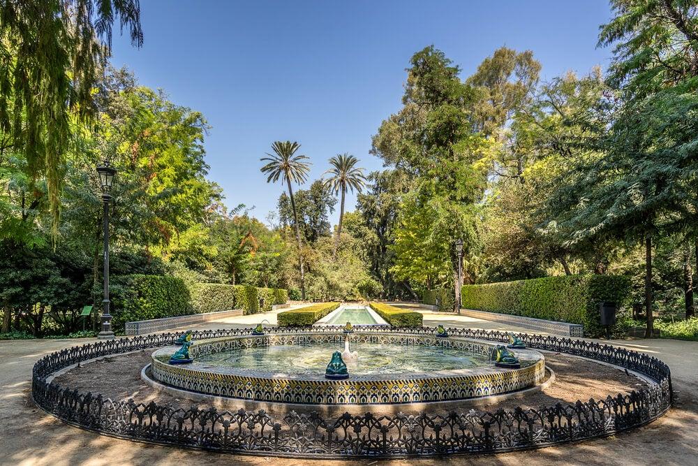 El Parque de María Luisa de Sevilla y la Plaza de España