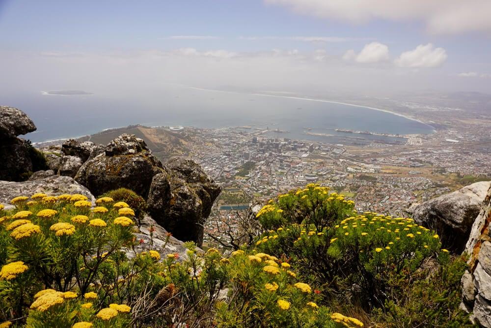 Vista desde la Table Mountain