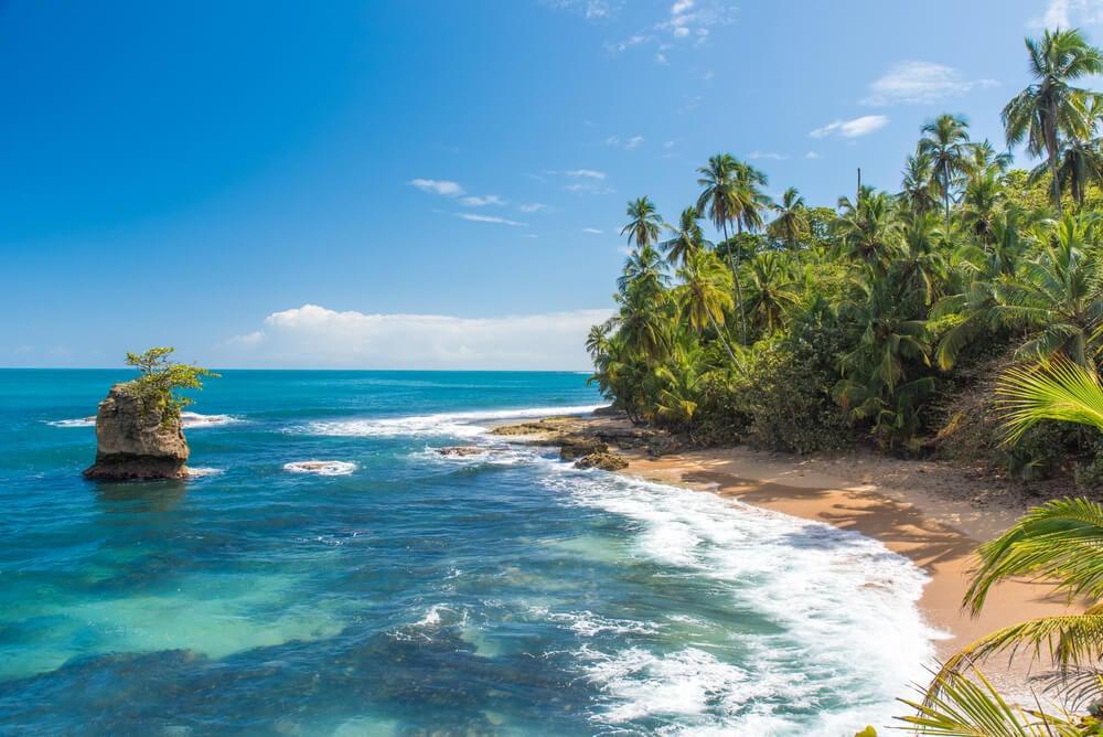 Playa Manzanillo en Costa Rica