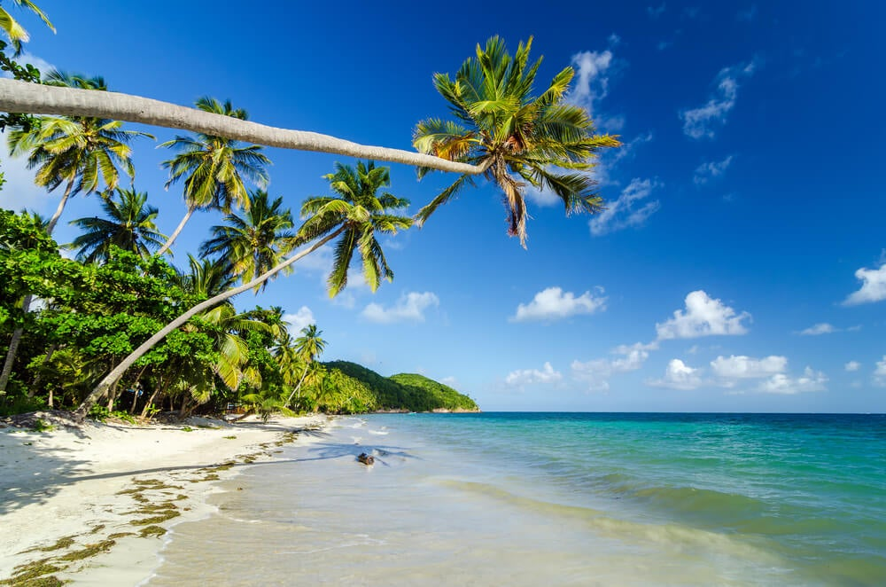 Playa en Providencia