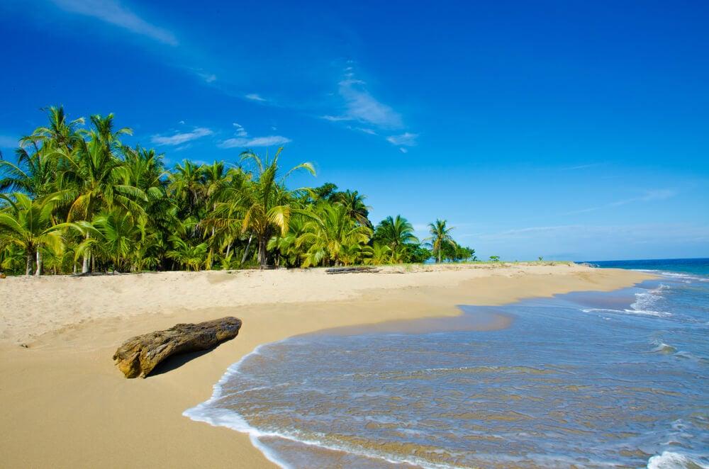 Playa en Puerto Viejo, Costa Rica