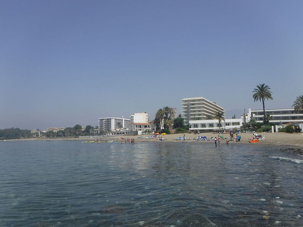 Playa del Saladillo en San Pedro de Alcántara