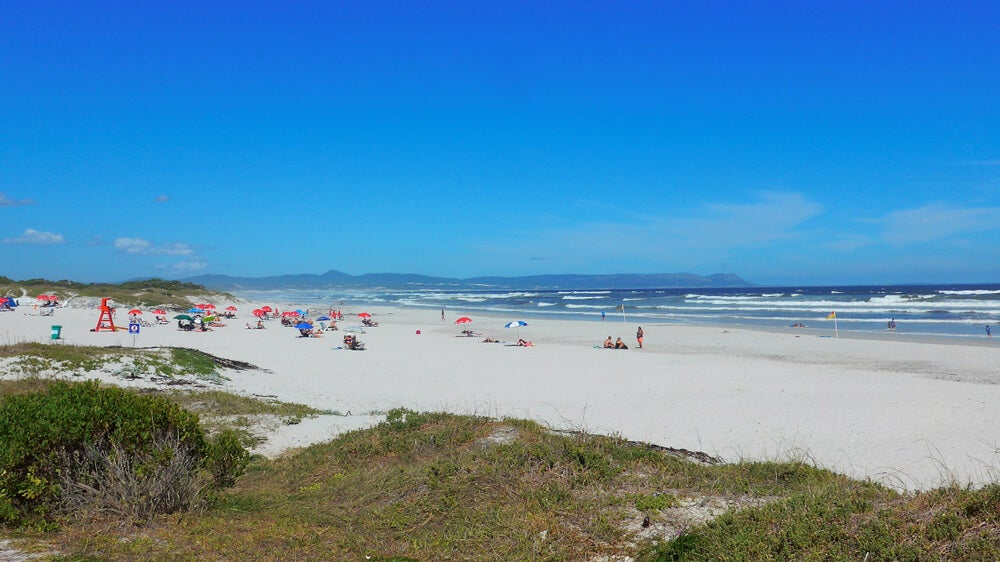 Playa en Hermanus, Walker Bay