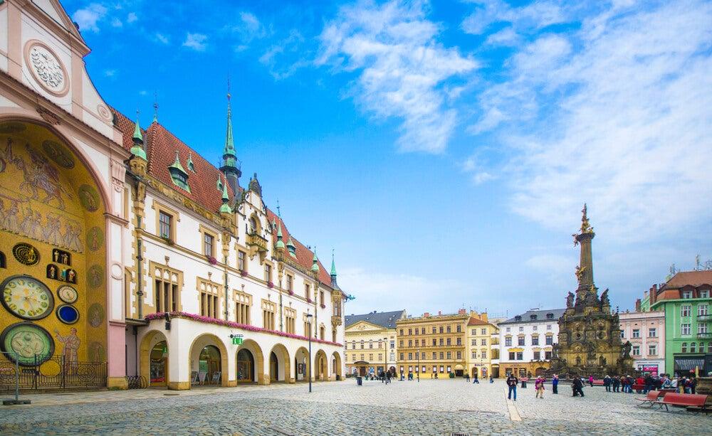 Plaza de la Ciudad Vieja de Olomouc