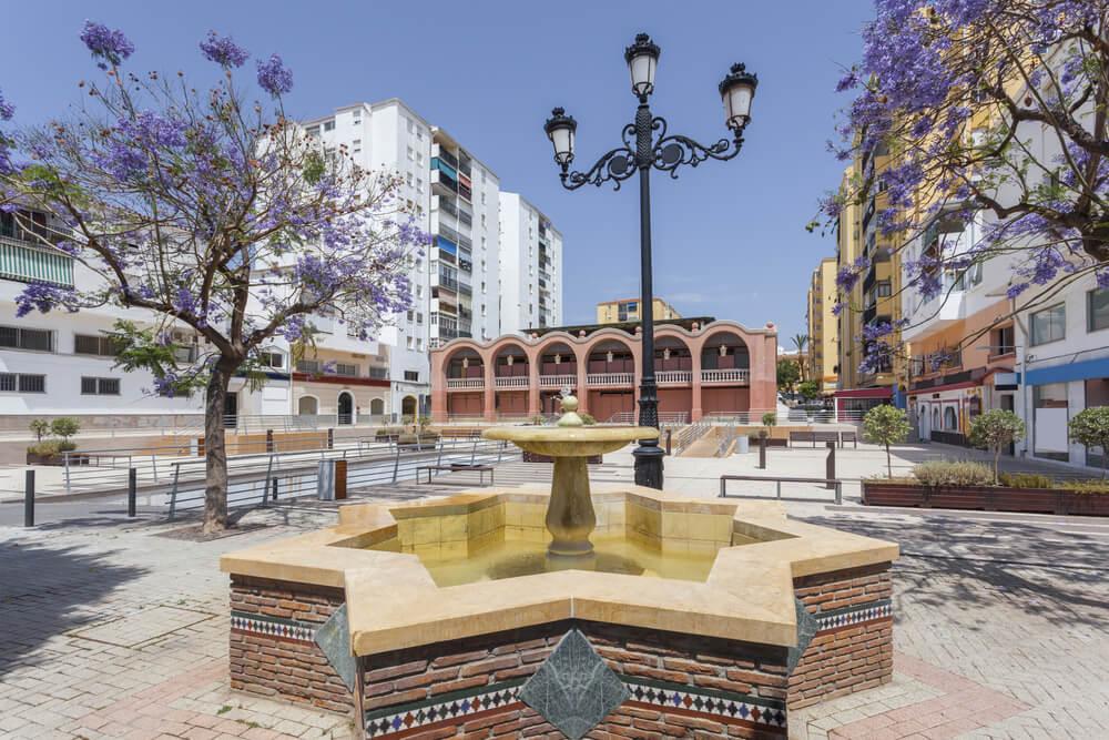 Plaza del Mercado en San Pedro de Alcántara