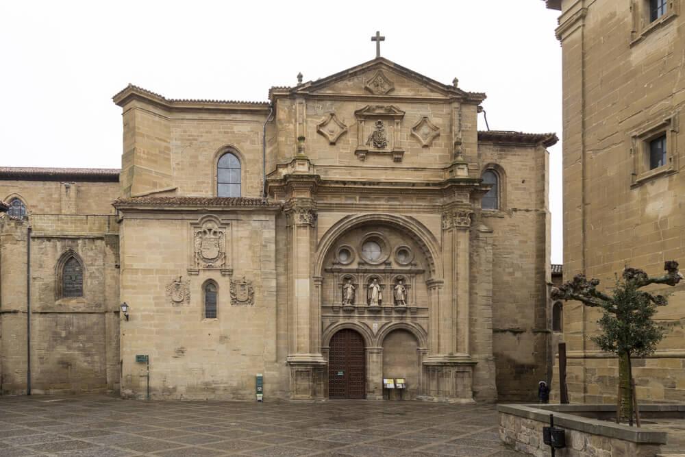 Portada de la catedral de Santo Domingo de la Calzada