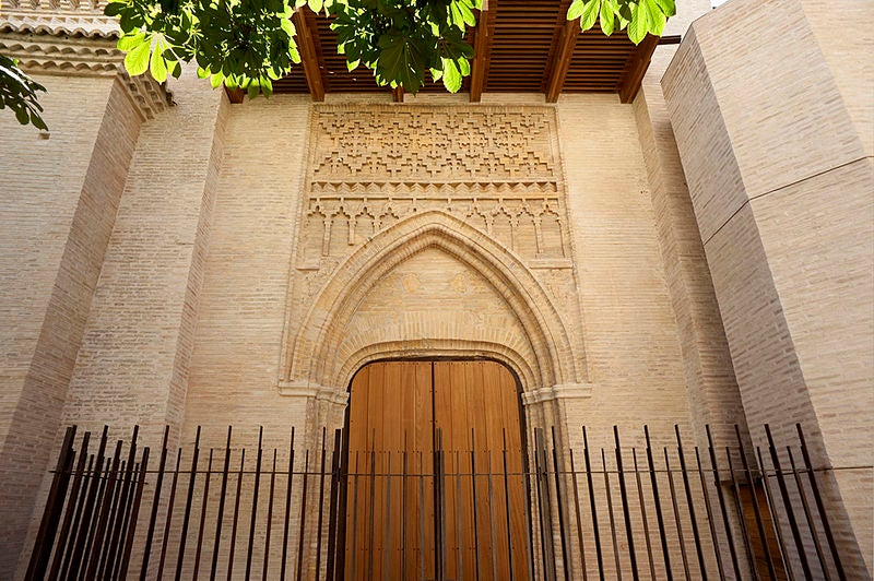 Portal mudéjar de la iglesia de Santa María Magdalena