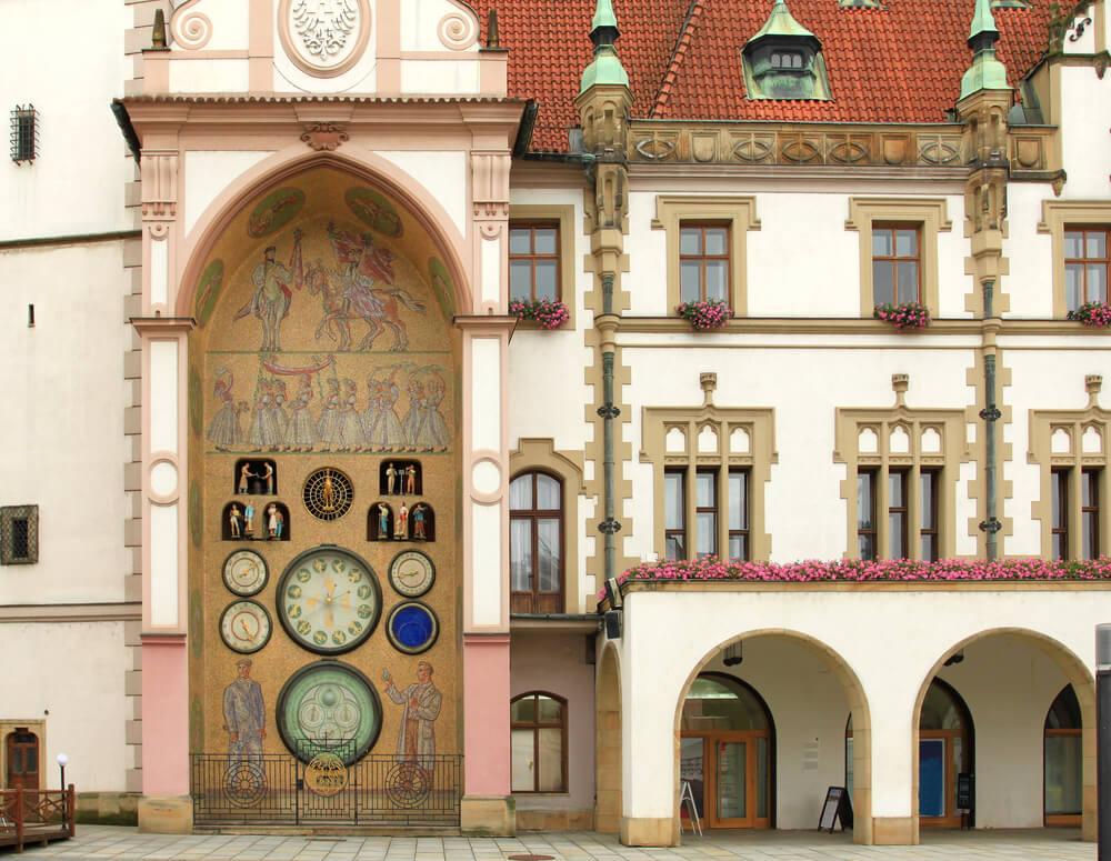 Conoce el reloj astronómico de Olomouc