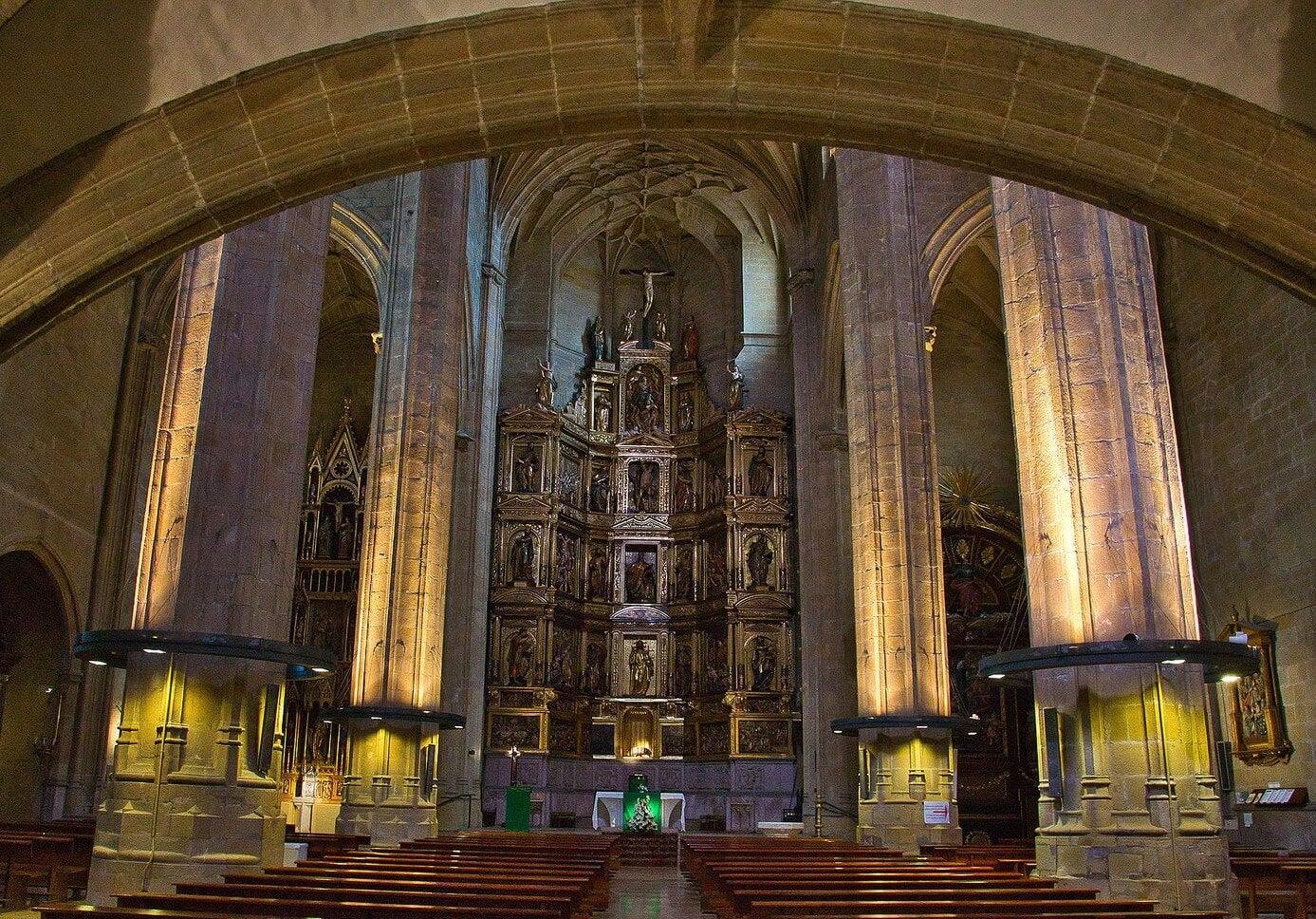 Retablo de la Catedral de Santo Domingo de la Calzada