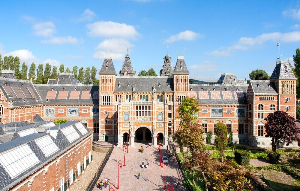 Maqueta del Rijksmuseum en Madurodam
