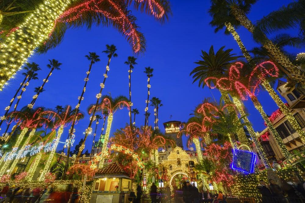 Vive una Navidad en California muy especial