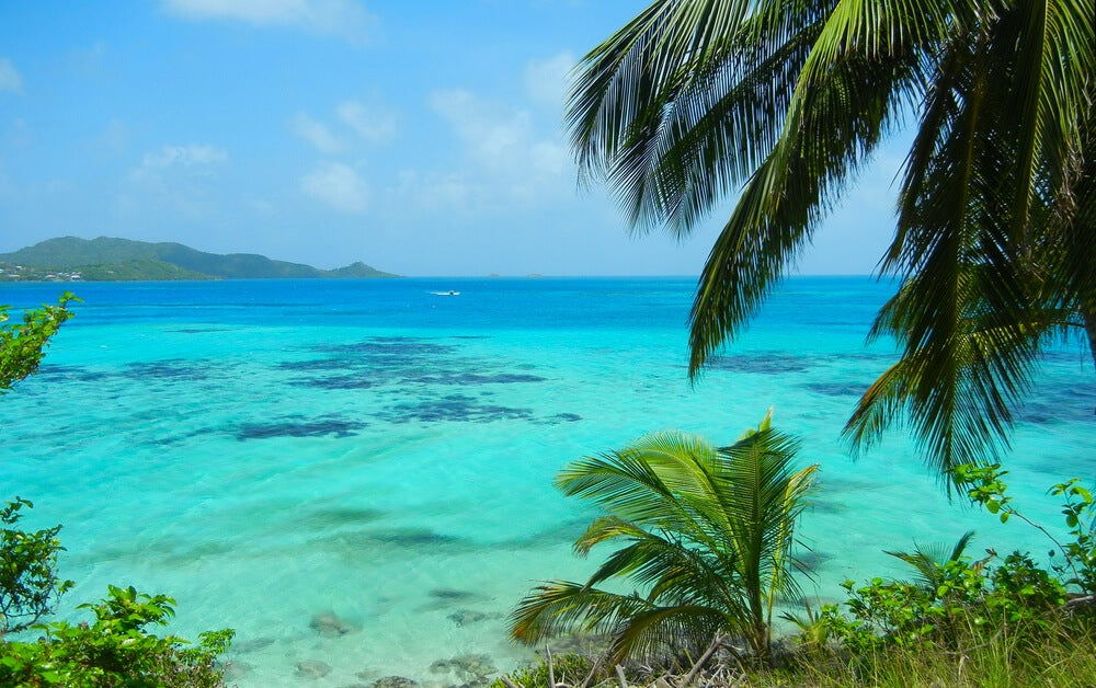Mar de los 7 colores en San Andrés