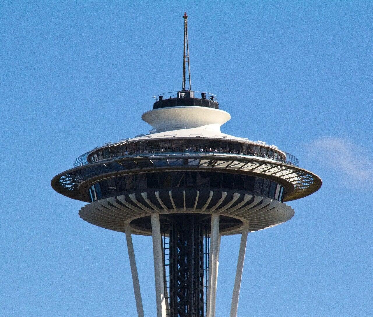 Plataforma de la torre Space Needle de Seattle