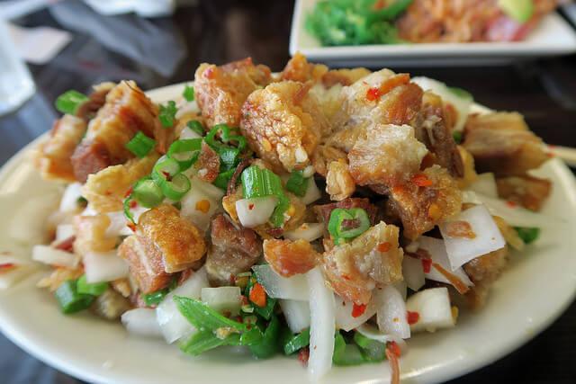 Sisig, plato de Filipinas